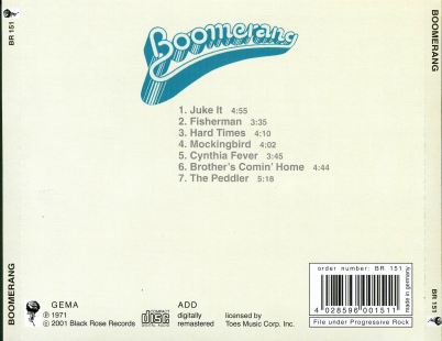 Boomerang - Same - Back